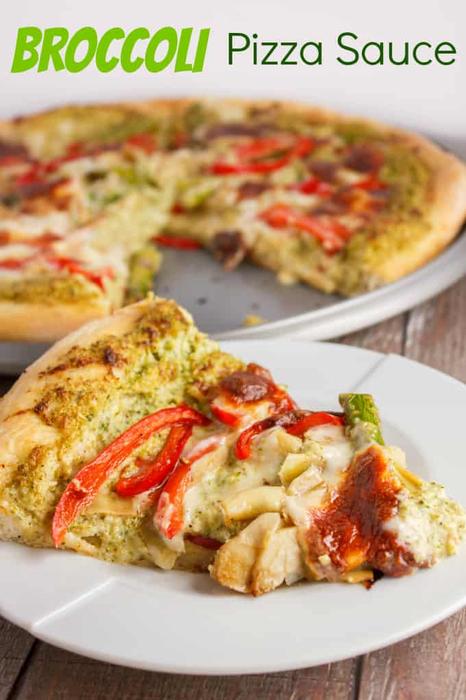 Broccoli Sauce (Broccoli Pizza Sauce) 2