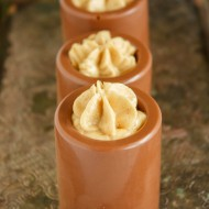 Chocolate Shot Glasses with Peanut Butter Mousse