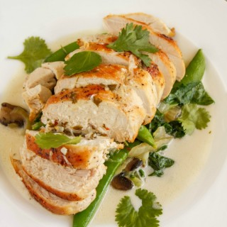 Coconut and Lime Chicken with Mixed Asian Vegetables 3