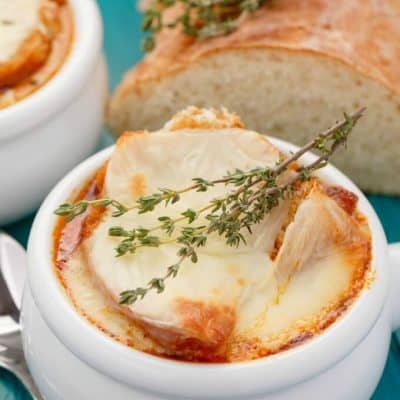 Massaman Curry French Onion Soup