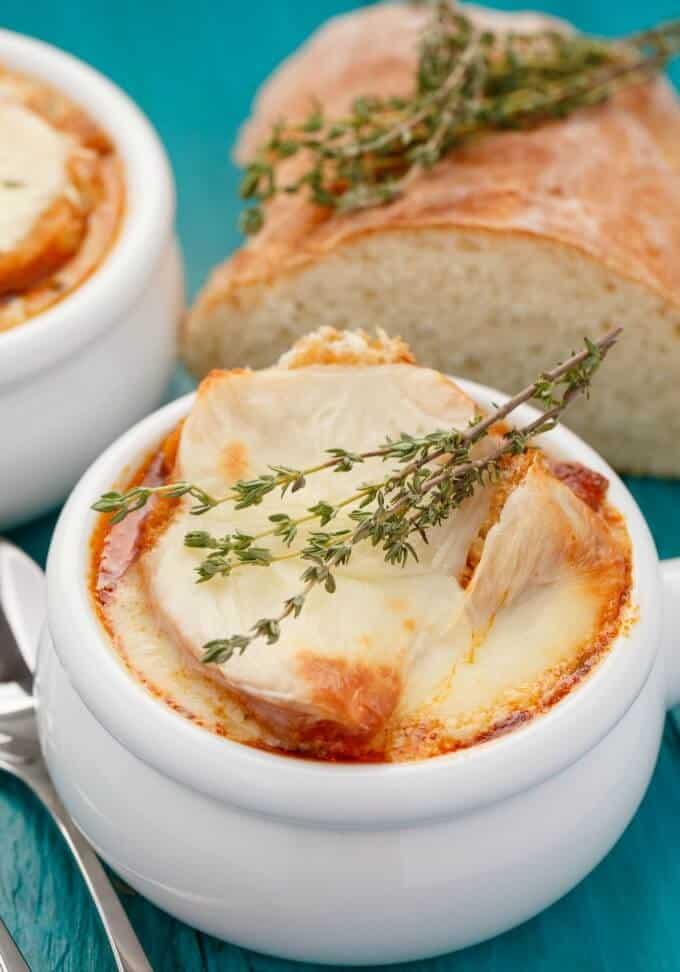 Massaman Curry French Onion Soup