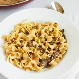 Mushroom Stroganoff (Vegetarian) 5