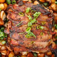 Bacon-Wrapped Pork Loin