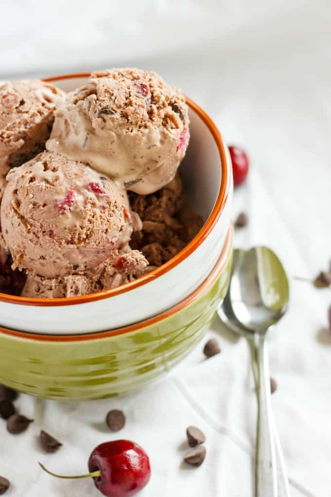 Cherry-Chocolate Ice Cream 2