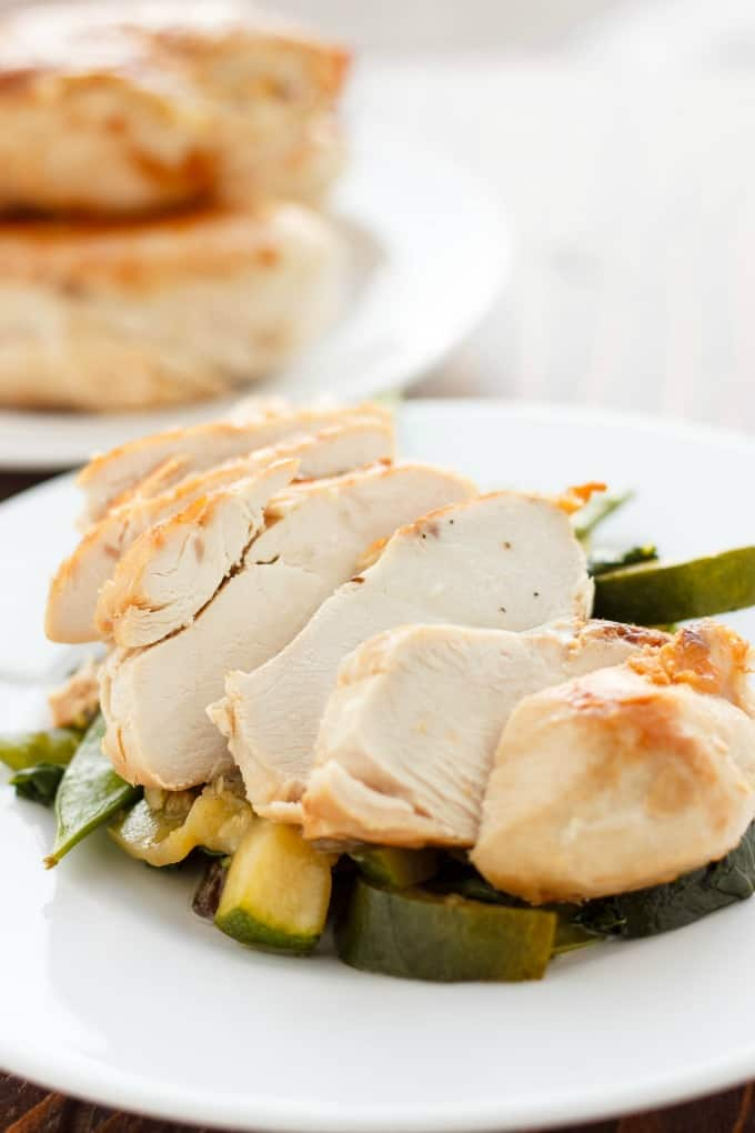 Coconut and Lime Chicken with Mixed Asian Vegetables #coconut