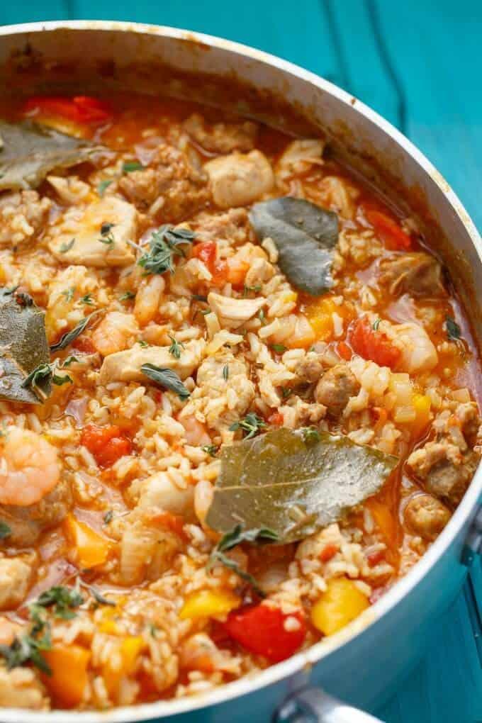 easy-jambalaya-recipe-one-pan-jambalaya