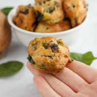 Mushroom and Spinach Puffs