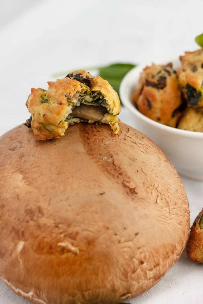 Mushroom and Spinach Puffs 2