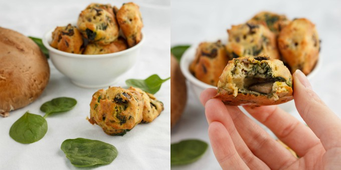 Mushroom and Spinach Puffs 4