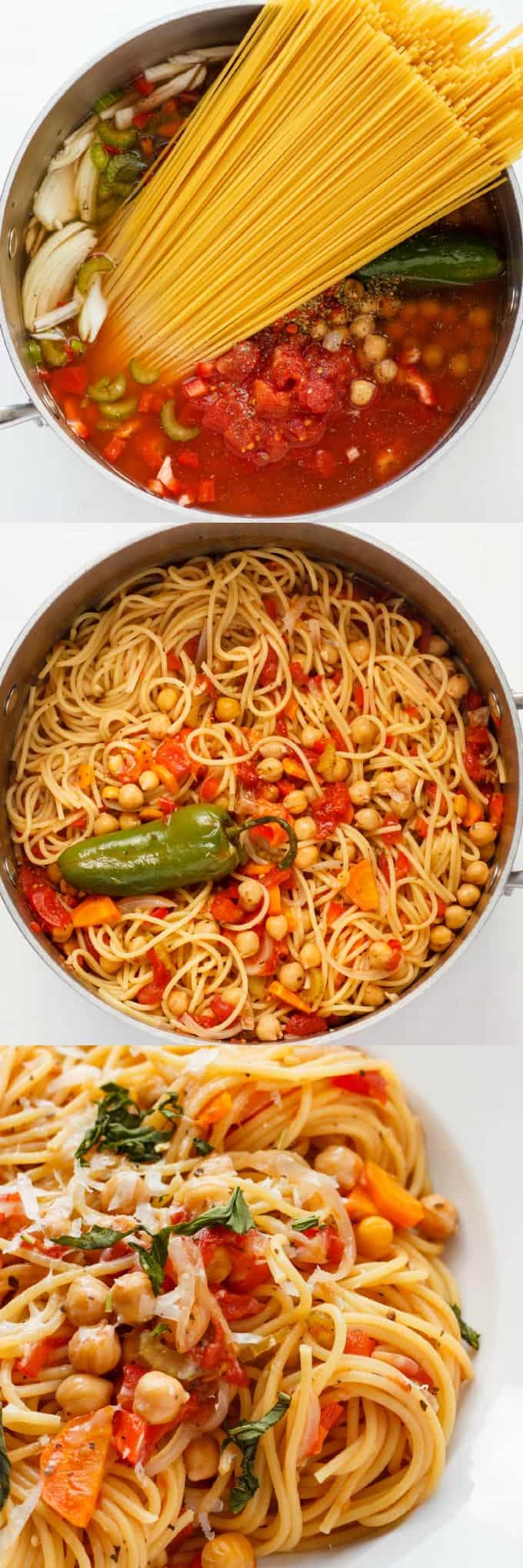 One-Pot Spaghetti Pasta Meal 1