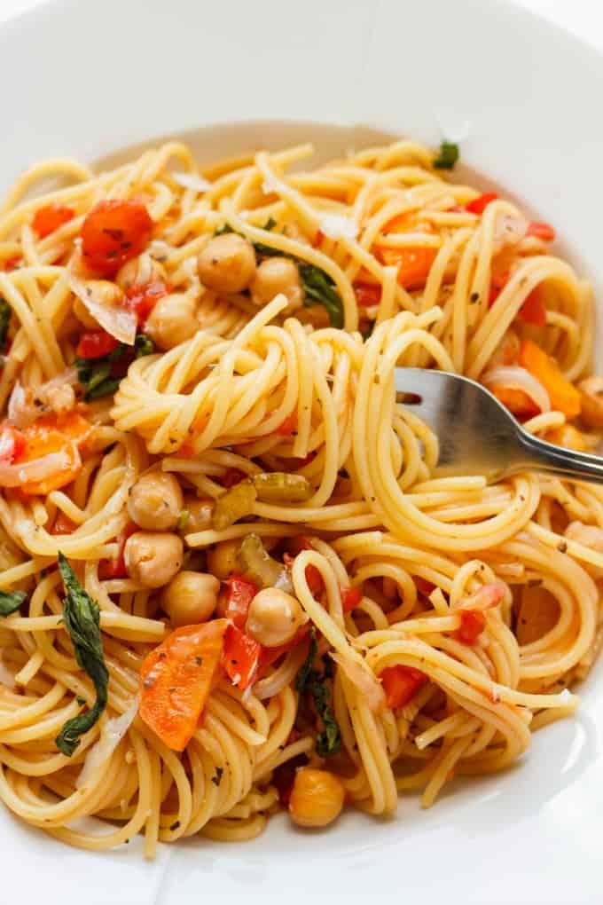 One-Pot Spaghetti Pasta Meal 4