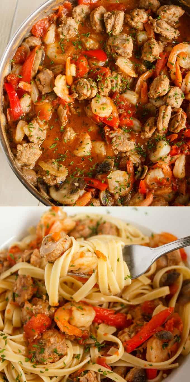 Shrimp and Sausage Pasta Sauce 1
