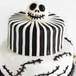 Nightmare Before Christmas Cake (Jack Skellington Cake)
