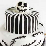Nightmare Before Christmas Cake (Jack Skellington Cake)