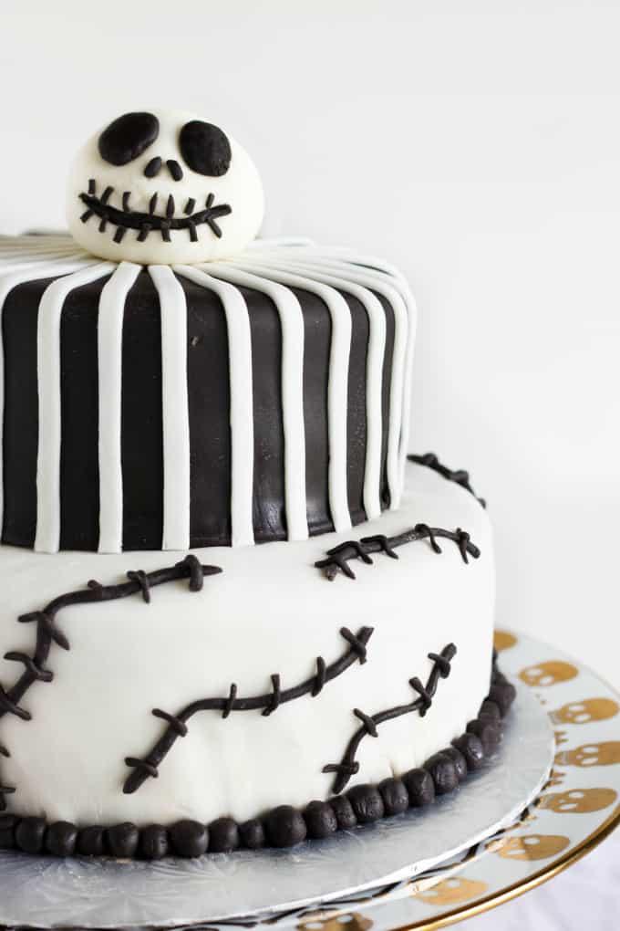 Nightmare Before Christmas Cake Jack Skellington Cake The Cookie