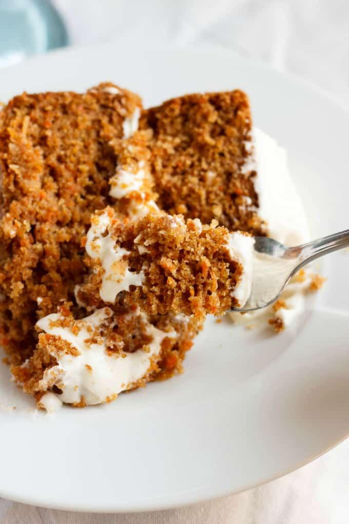 Gluten-Free Carrot Cake with Robin Hood Nutri Flour Blend 2