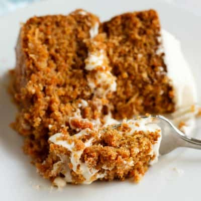 Gluten-Free Carrot Cake with Robin Hood Nutri Flour Blend