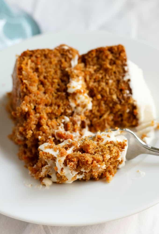 Gluten-Free Carrot Cake with Robin Hood Nutri Flour Blend 3