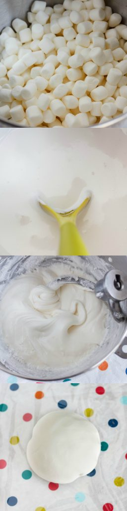 Tutorial How to Make Marshmallow Fondant (Two Ways!) 1