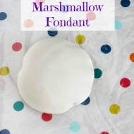 Tutorial: How to make Marshmallow Fondant (Two Ways!)
