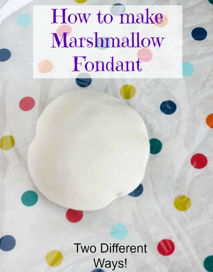 How to make fondant without gelatin and marshmallows