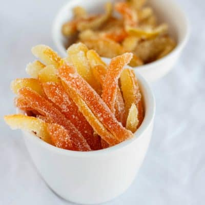 Homemade Candied Citrus Peels Recipe (Tutorial)