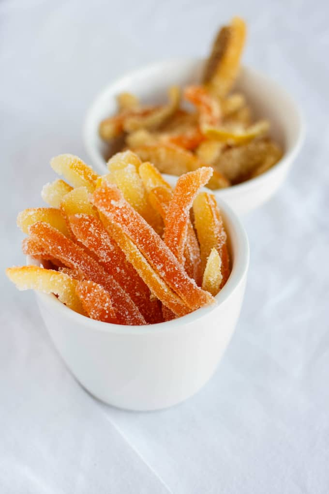 Homemade Candied Citrus Peels Recipe Homemade Candied Citrus Peels ...