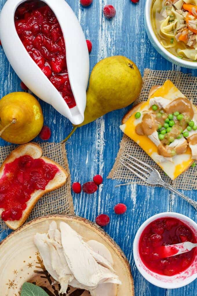 Pear Cranberry Sauce