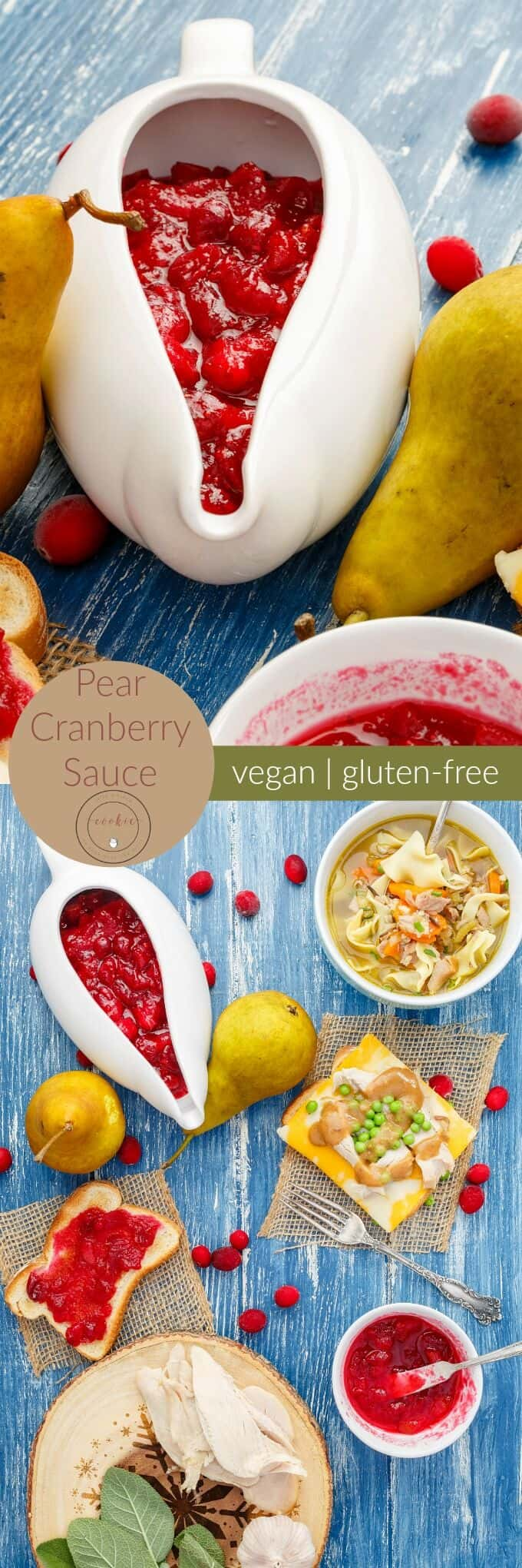 Pear Cranberry Sauce