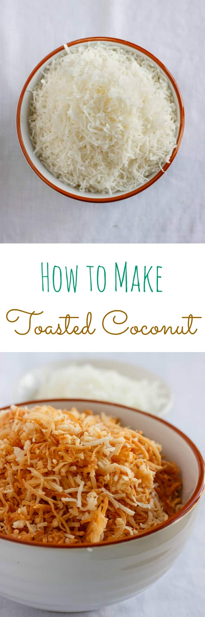Tutorial How to Make Toasted Coconut #toastedcoconut