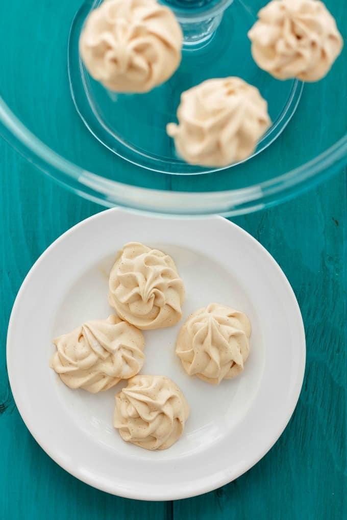 Skinny Frozen Peanut Butter Whips