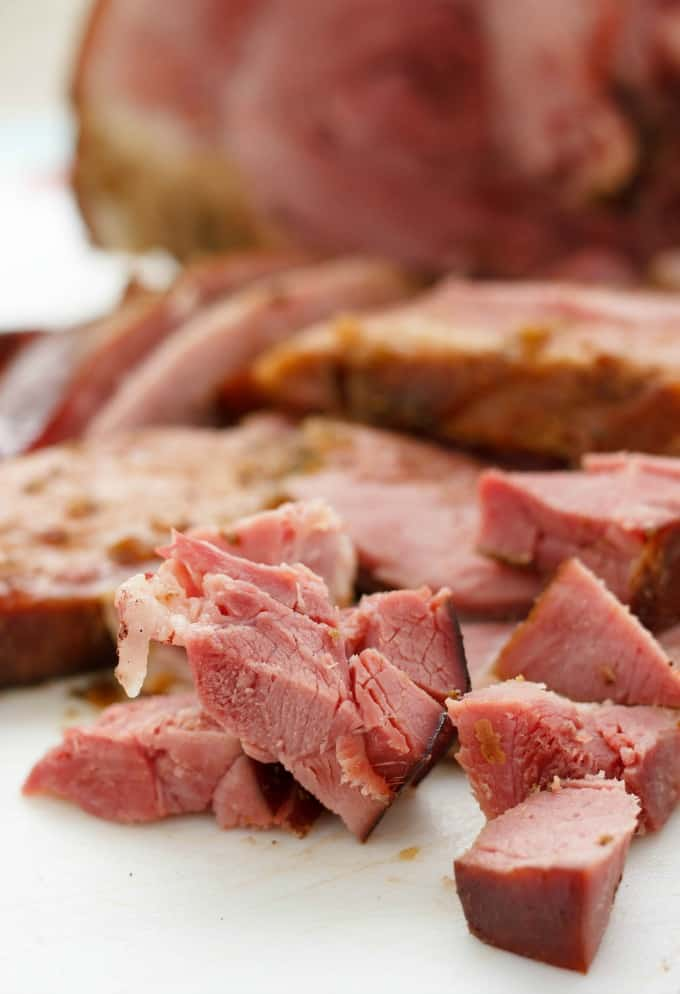 how to cook a ham in a slow cooker