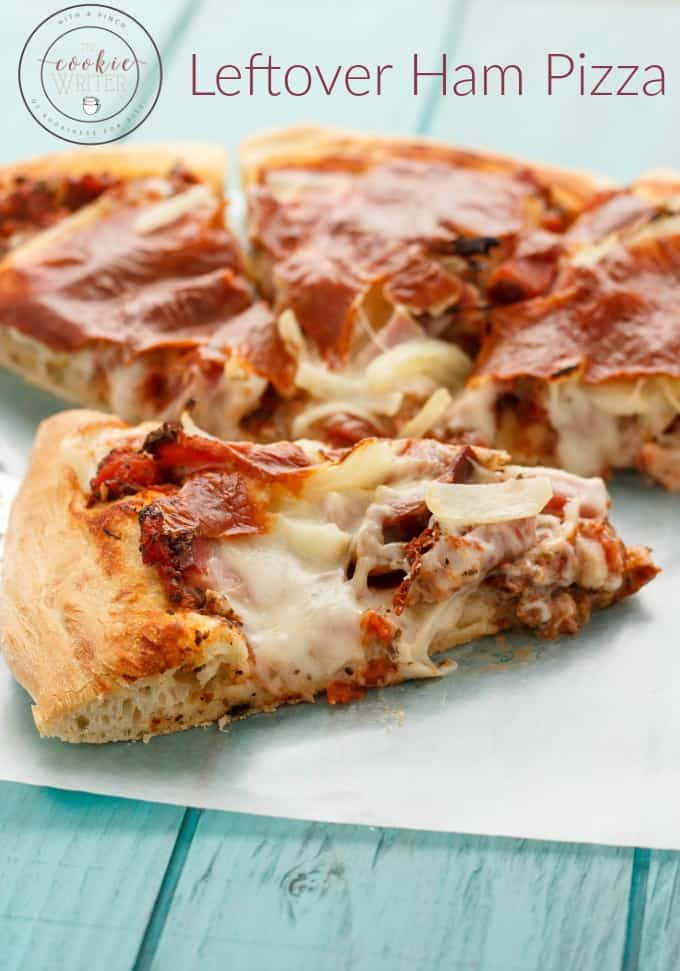 Leftover Ham Pizza