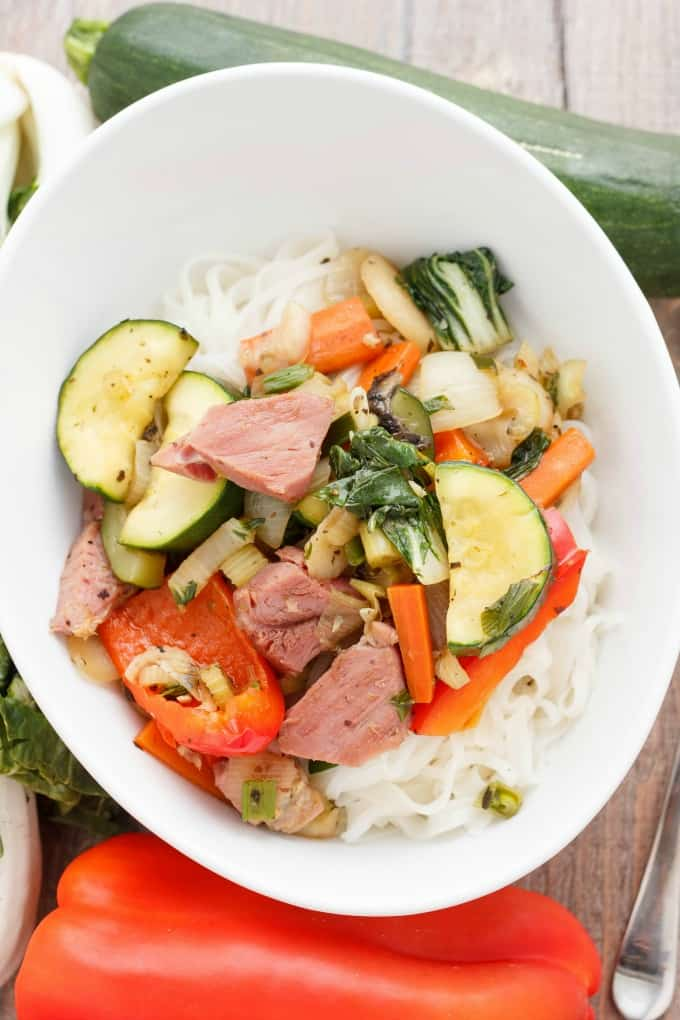 Leftover Ham Stir Fry #leftovers