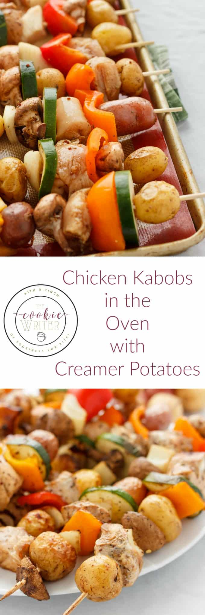 Shish Kabobs in the Oven (Chicken and Tofu Varietals!) #chicken