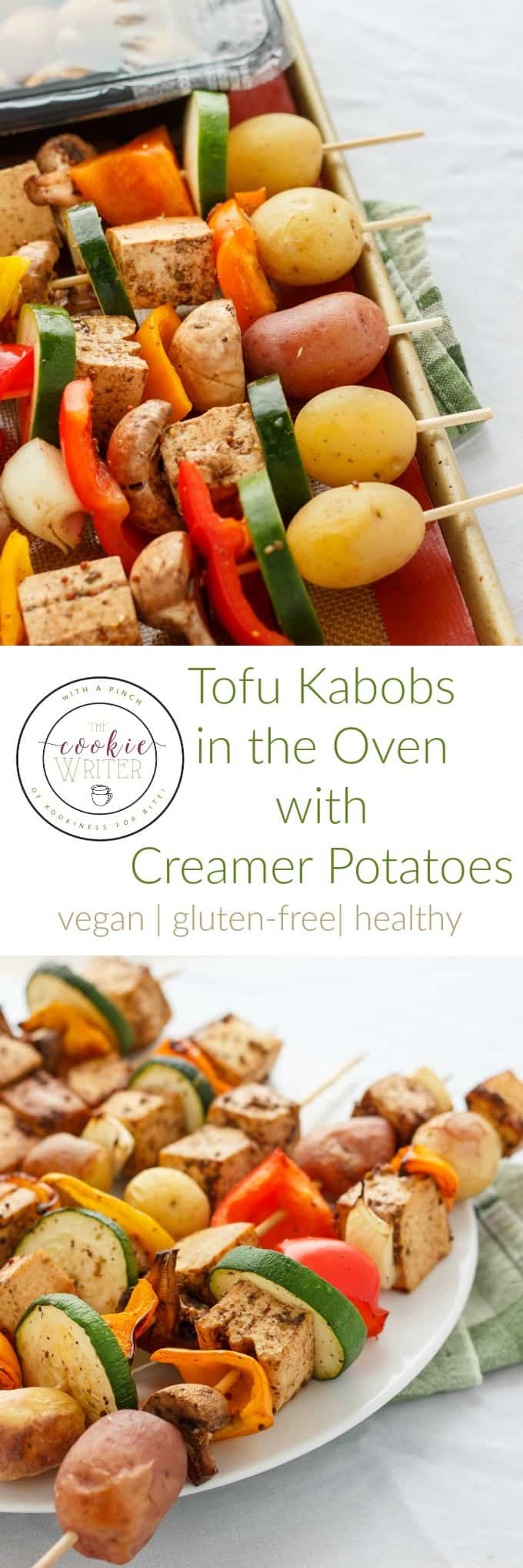 Shish Kabobs in the Oven (Chicken and Tofu Varietals!) #tofu