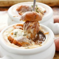 French Onion Soup with Potatoes