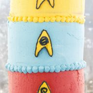 Buttercream Star Trek Cake (Cookie Geek #3)