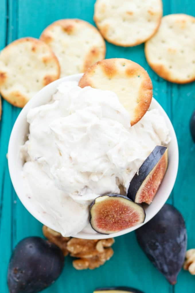 Farm Boy Fig and Walnut Cream Cheese Dip Copycat Recipe #appetizer