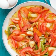 One Pan Egg Breakfast with Veggies