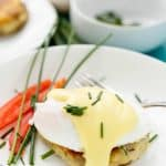 Eggs Benedict over Potato Pancakes + Giveaway