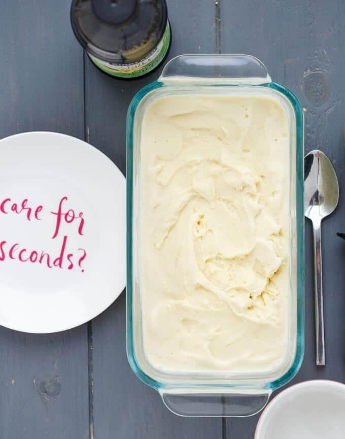 Basic Vanilla Ice Cream #icecream