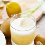 Kiwi Whiskey Sour
