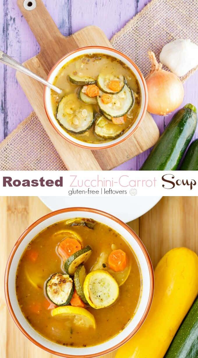 Roasted Zucchini-Carrot Soup