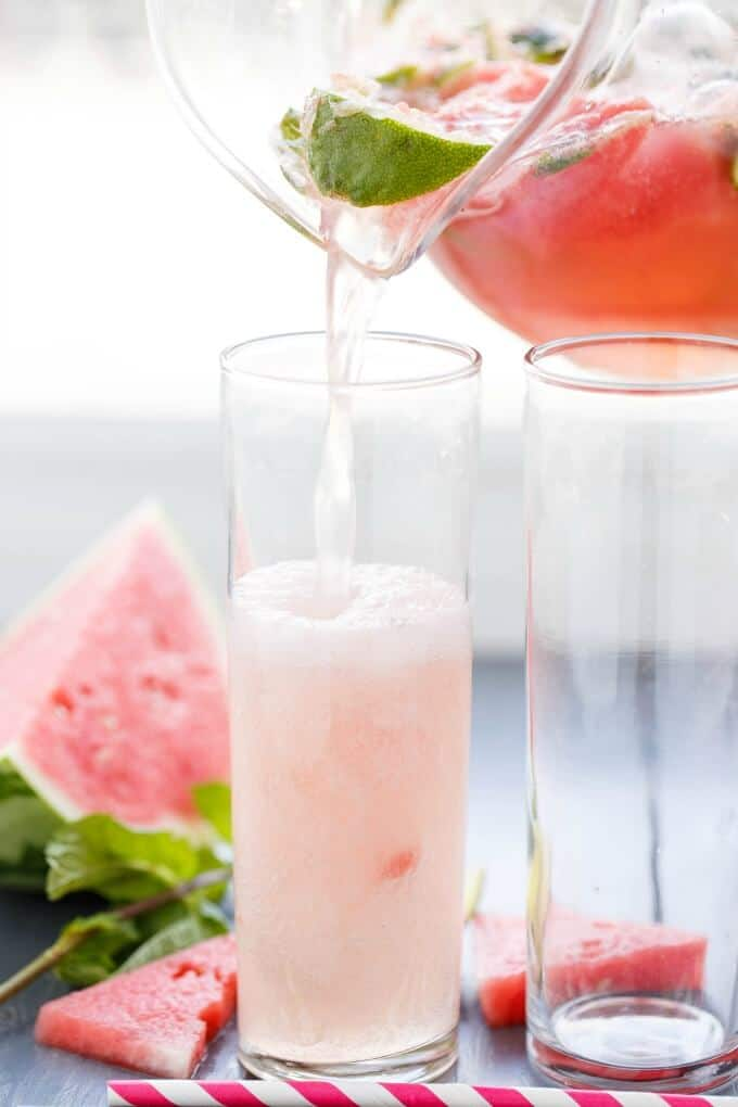 Watermelon Mojitos #vegan