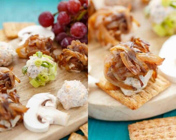 Mushroom and Beef Cheese Balls (Mini Style!) #cheese