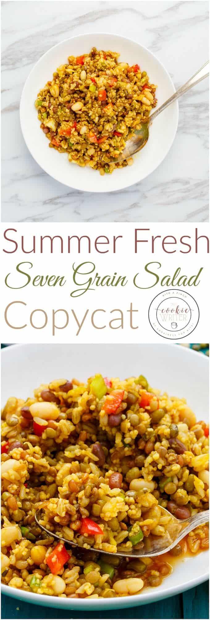 Summer Fresh Seven Grain Salad Copycat