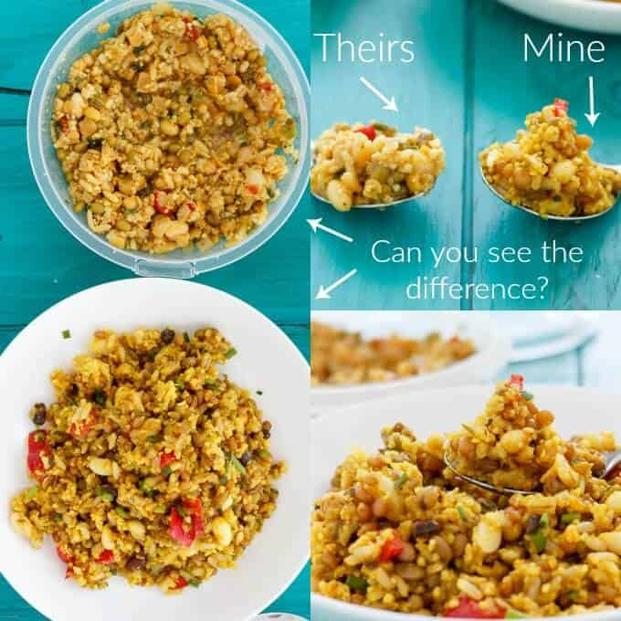 Summer Fresh Seven Grain Salad Copycat #comparison
