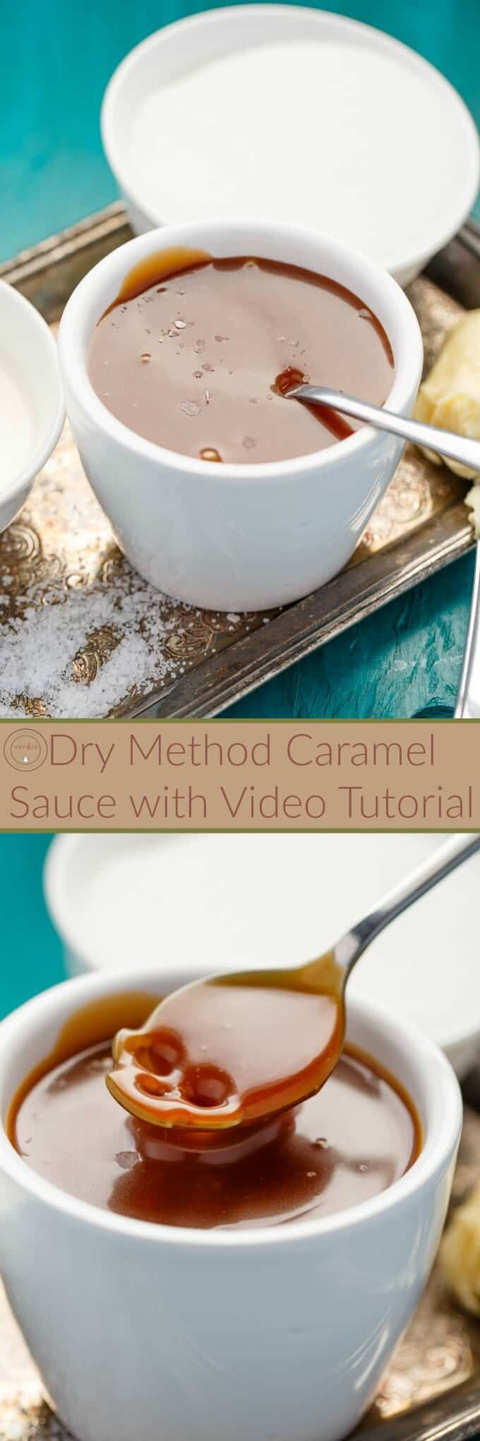 Dry Method Caramel Sauce: How-To Tutorial