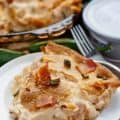 Jalapeno Popper Chicken Pot Pie with Bacon